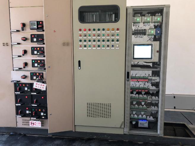 2018年6月四川眉山博眉铝业改造项目现场施工